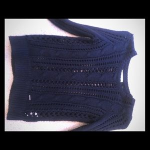 Sweater with crop top Abercrombie